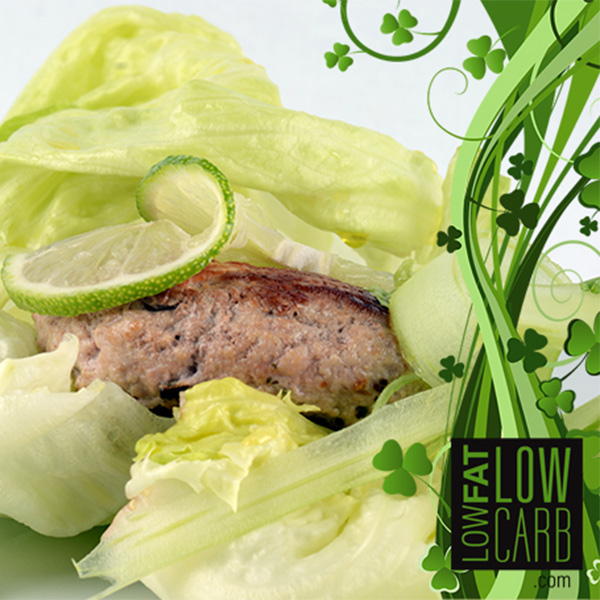 IP Turkey Burger Salad