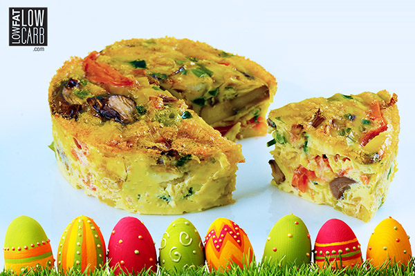 Omelette Cakes – Easter Egg Recipe